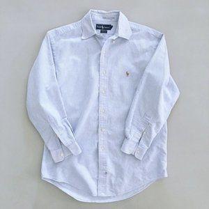 RALPH LAUREN Yarmouth Men's Stripe Dress Shirt